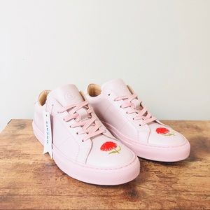 NWT Greats x Cynthia Rowley Pink Royale Sneakers.